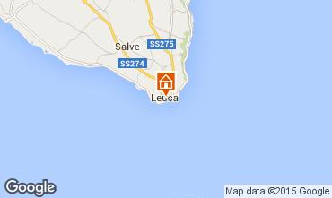 Mapa Santa Maria di Leuca Apartamentos 98876
