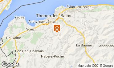 Mapa Thonon Les Bains Apartamentos 78313