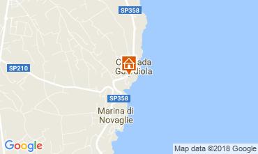 Mapa Corsano Apartamentos 115714
