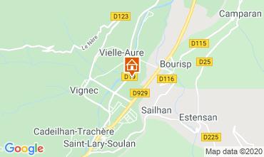 Mapa Saint Lary Soulan Apartamentos 4397