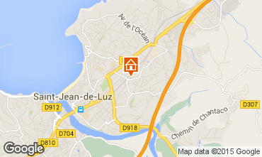 Mapa Saint Jean de Luz Estúdio 9344