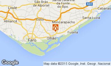Mapa Olhão Apartamentos 54690