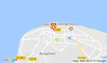 Mapa Arcachon Apartamentos 113009
