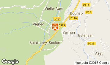 Mapa Saint Lary Soulan Estúdio 28235