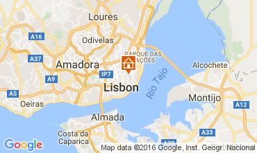 Mapa Lisboa Apartamentos 106641