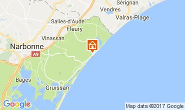 Mapa Saint Pierre la Mer Casa 109341