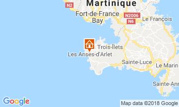 Mapa Anses d'Arlet Apartamentos 117070