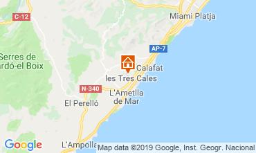 Mapa La Ametlla de Mar Vivenda 118601