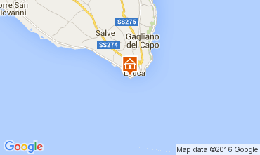 Mapa Santa Maria di Leuca Apartamentos 104223