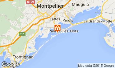 Mapa Palavas-les-Flots Mobil Home 96103