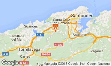 Mapa Santander Apartamentos 46575