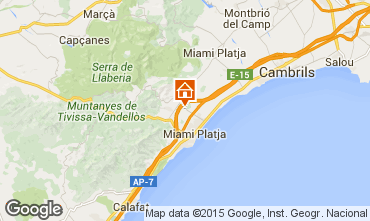 Mapa Cambrils Casa 9709