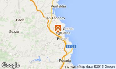 Mapa San Teodoro Apartamentos 83258