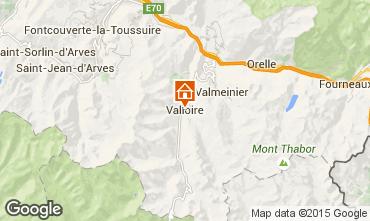 Mapa Valloire Apartamentos 82534