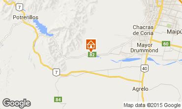 Mapa Mendoza Casa de turismo rural/Casa de campo 75373