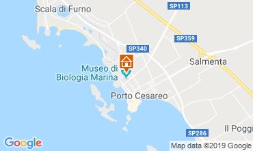 Mapa Porto Cesareo Apartamentos 83720