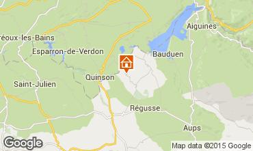 Mapa Artignosc-sur-Verdon Casa 93663