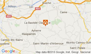 Mapa Biarritz Bungalow 53095