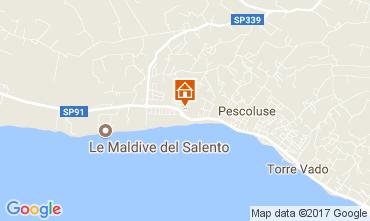 Mapa Pescoluse Apartamentos 110707