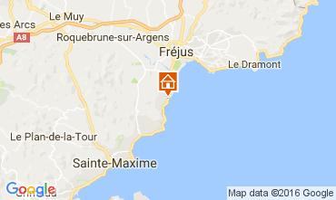 Mapa Saint Aygulf Vivenda 106866