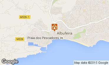 Mapa Albufeira Est�dio 56498