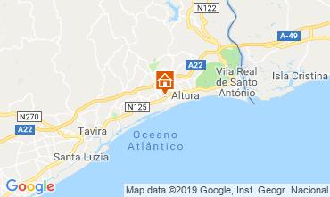 Mapa Tavira Vivenda 117553