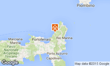 Mapa Rio nell'Elba Apartamentos 85148