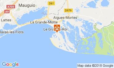Mapa Le Grau du Roi Vivenda 90171