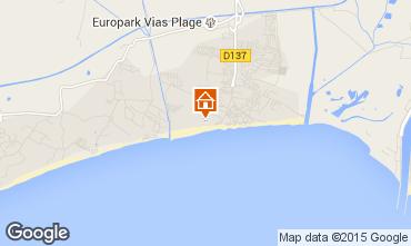Mapa Vias Praia Apartamentos 95499