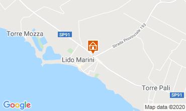 Mapa Lido Marini Vivenda 86584