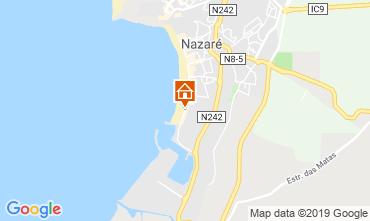 Mapa Nazaré Apartamentos 46642