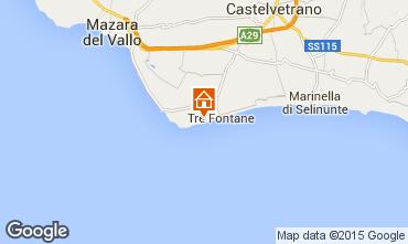 Mapa Tre Fontane Apartamentos 78356