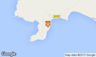 Mapa Porto Pollo Casa 52383