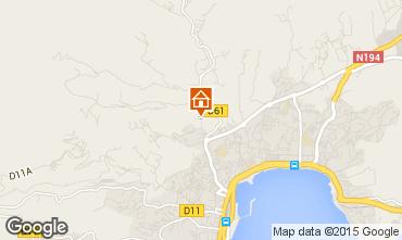 Mapa Ajaccio Apartamentos 93029