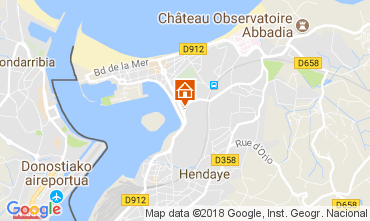 Mapa Hendaye Casa 113141