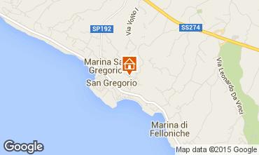 Mapa Santa Maria di Leuca Casa 62442