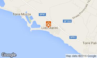 Mapa Lido Marini Vivenda 86623