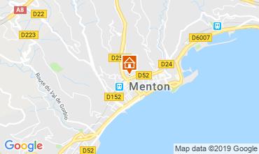Mapa Menton Apartamentos 66868