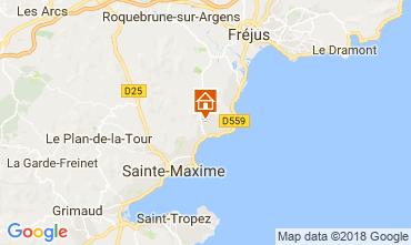 Mapa Les Issambres Apartamentos 115673