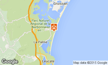Mapa Port La Nouvelle Apartamentos 79517