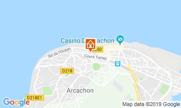 Mapa Arcachon Apartamentos 119569