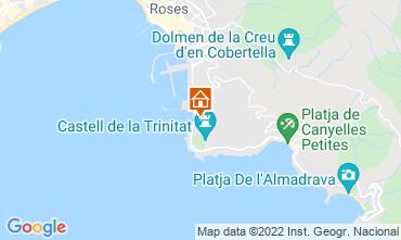 Mapa Rosas Apartamentos 68687