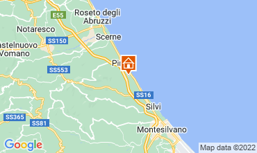 Mapa Roseto degli Abruzzi Apartamentos 34995