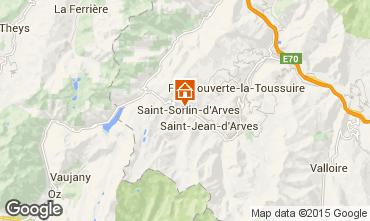 Mapa Saint Sorlin d'Arves Apartamentos 74669