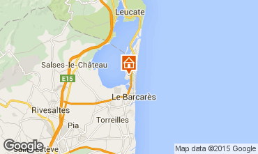 Mapa Le Barcares Casa 10542