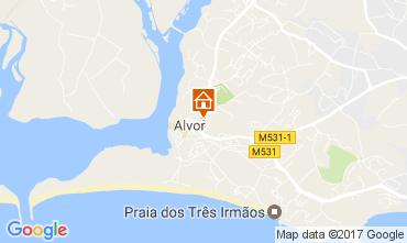 Mapa Alvor Vivenda 108656