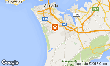 Mapa Costa de Caparica Casa 78595