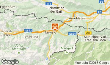 Mapa Tarvisio Chalé 24766