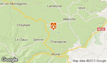 Mapa Le Lioran Casa de turismo rural/Casa de campo 91413