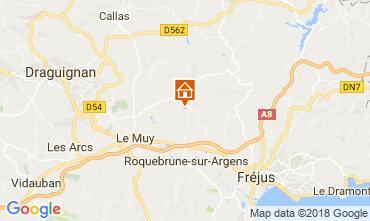 Mapa Roquebrune sur Argens Vivenda 115161
